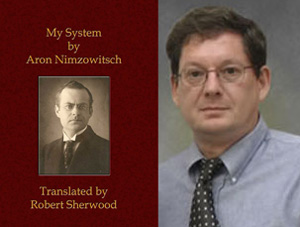 My System and Blockade Electronic edition and a picture of Robert Sherwood the translator. Photo ©