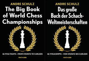 The Big Book of World Chess Championships by ChessBase' Andre Schulz is available in English and German. Photo ©