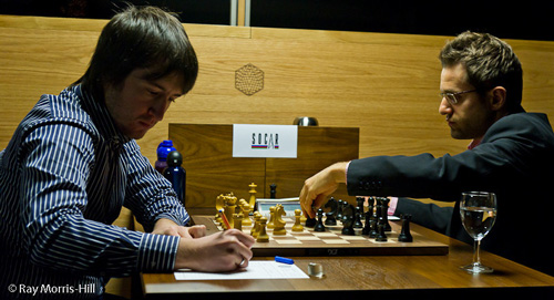 Teimour Radjabov lost to Levon Aronian
