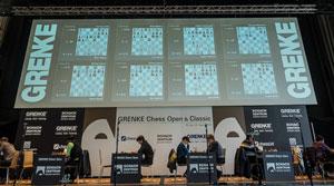 Stage for the Grenke tournament. Photo © Eric van Reem