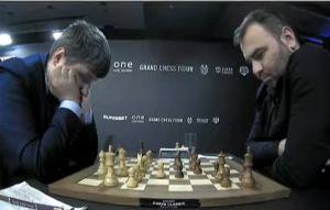 Lupulescu was beaten by Mamedyarov in Round 5. Photo ©